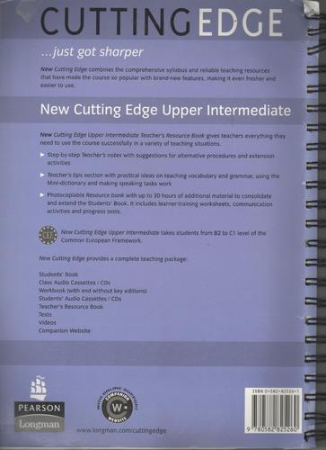 new cutting edge upper intermediate teacher's resource book
