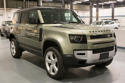 new defender first edition 400p
