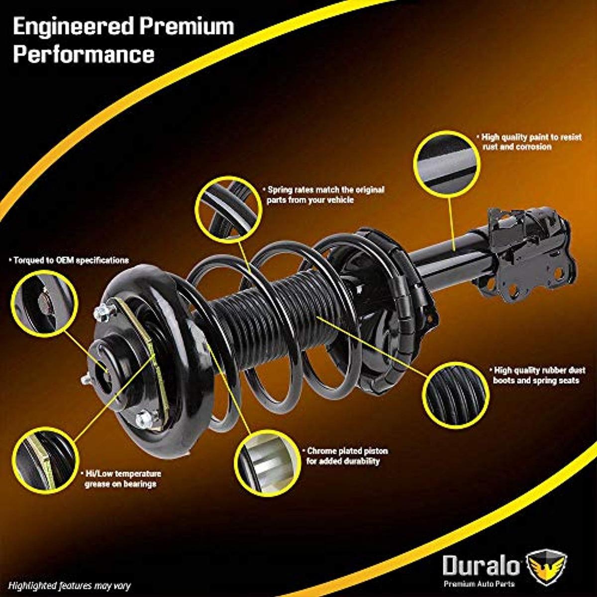 New Duralo Front Complete Strut & Spring