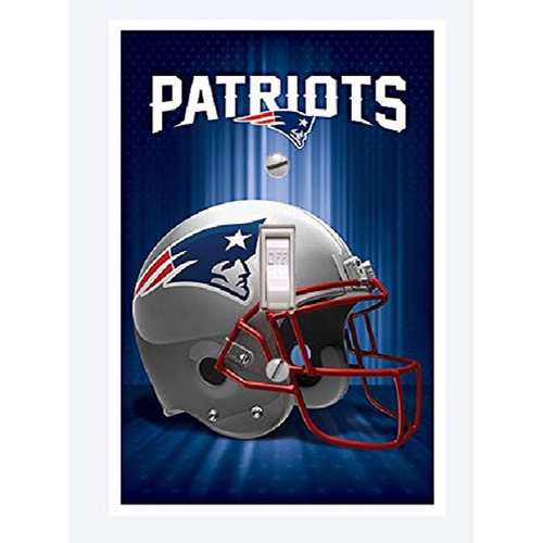 new england patriots lightswitch cover