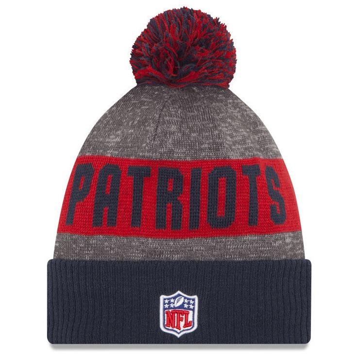 6d0618feb New England Patriots New Era Polar Beanie Gorro Lana Pom Nfl ...