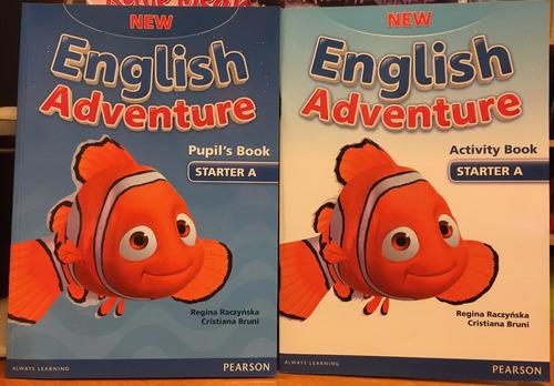 new english adventure starter a pupils book & activity book