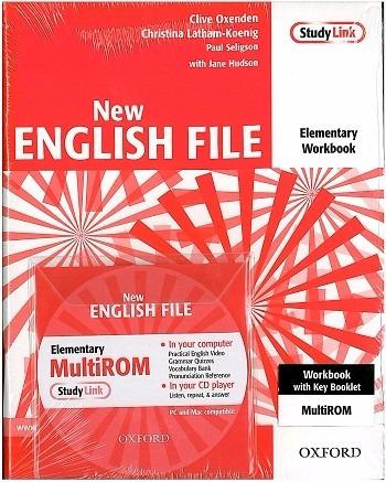 new english file elementary. woorkbook.