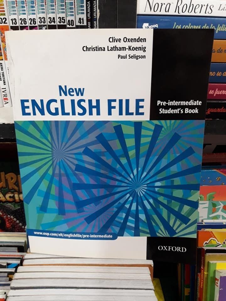 New English File Pre-intermediate Students Book Pdf