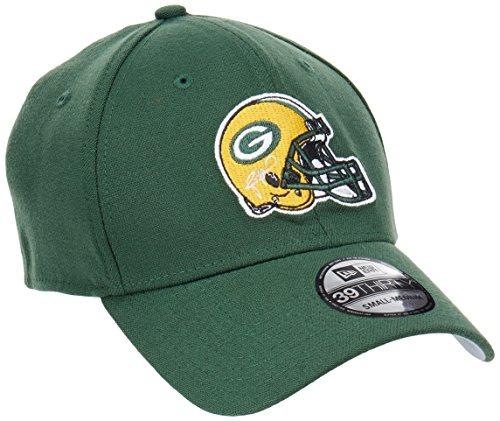a2c1241cd276e New Era 11418386 Gorra Oficial 39thirty Green Bay Packers