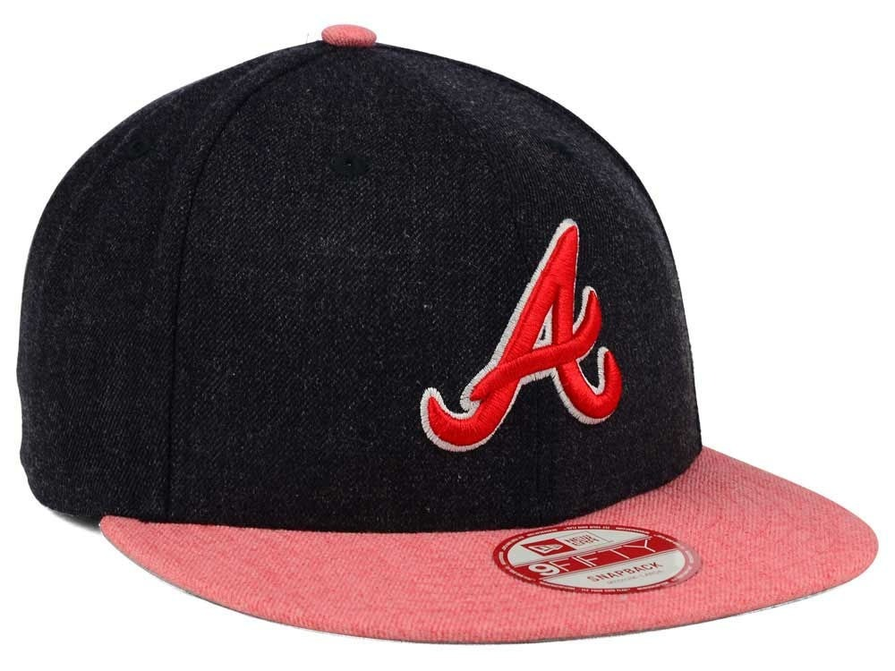 new era 9fifty atlanta braves heather action gorra ajustable. Cargando zoom. e40f369be62