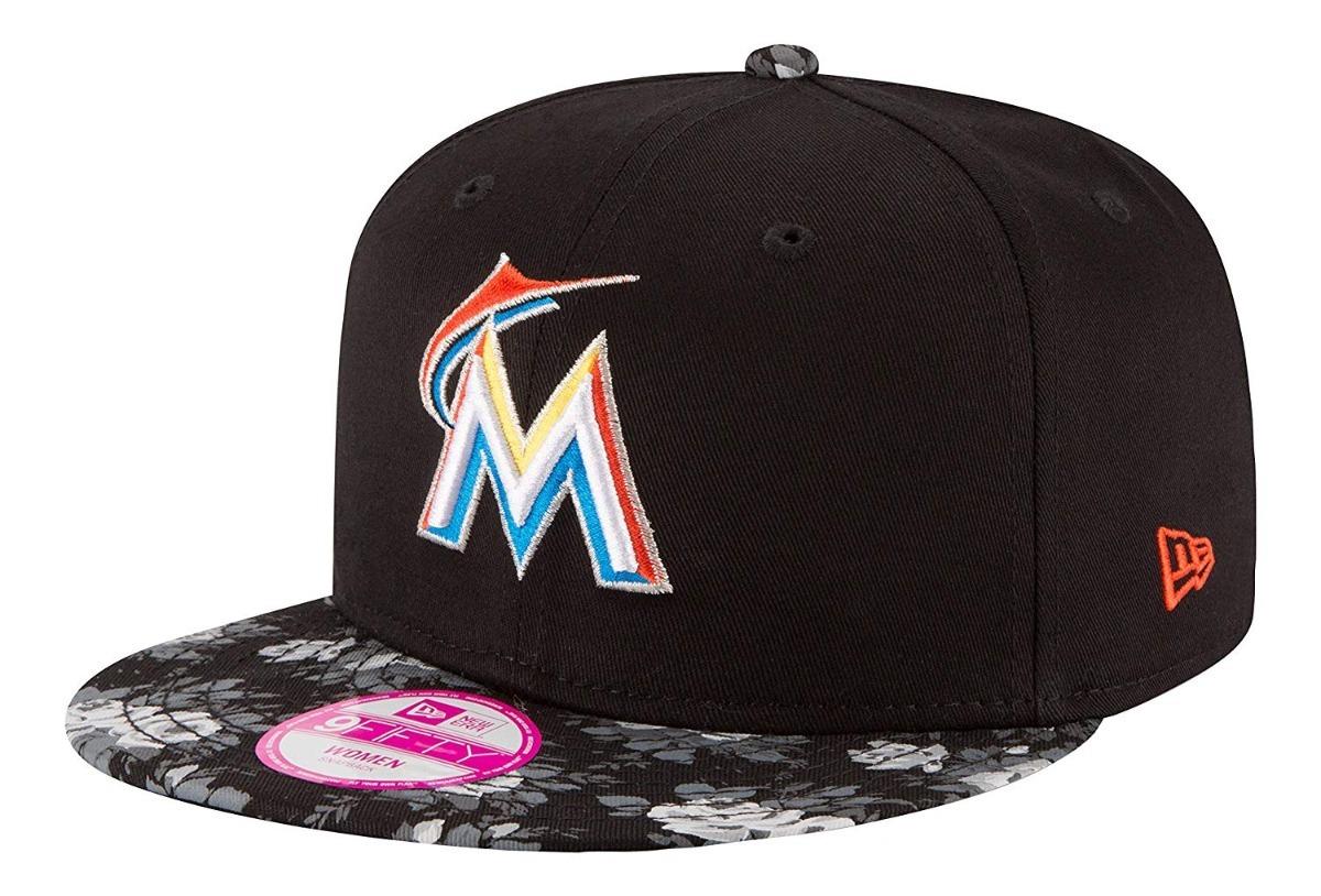 New Era 9fifty Miami Marlins Gorra Ajustable Mlb Dama -   599.00 en ... 7f38a4ae1dd