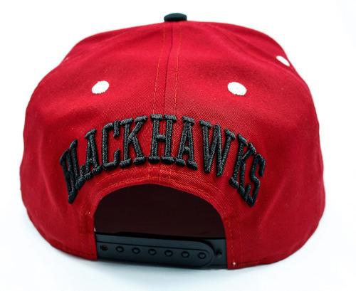 605221adae6 Carregando zoom... boné new era snapback chicago blackhawks turnover  vermelho