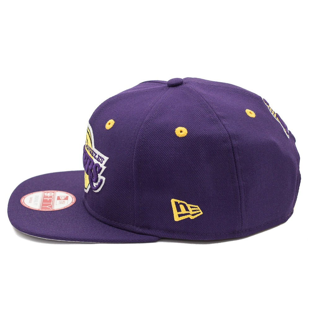 Carregando zoom... boné new era snapback original fit los angeles lakers  roxo c35a357e25b