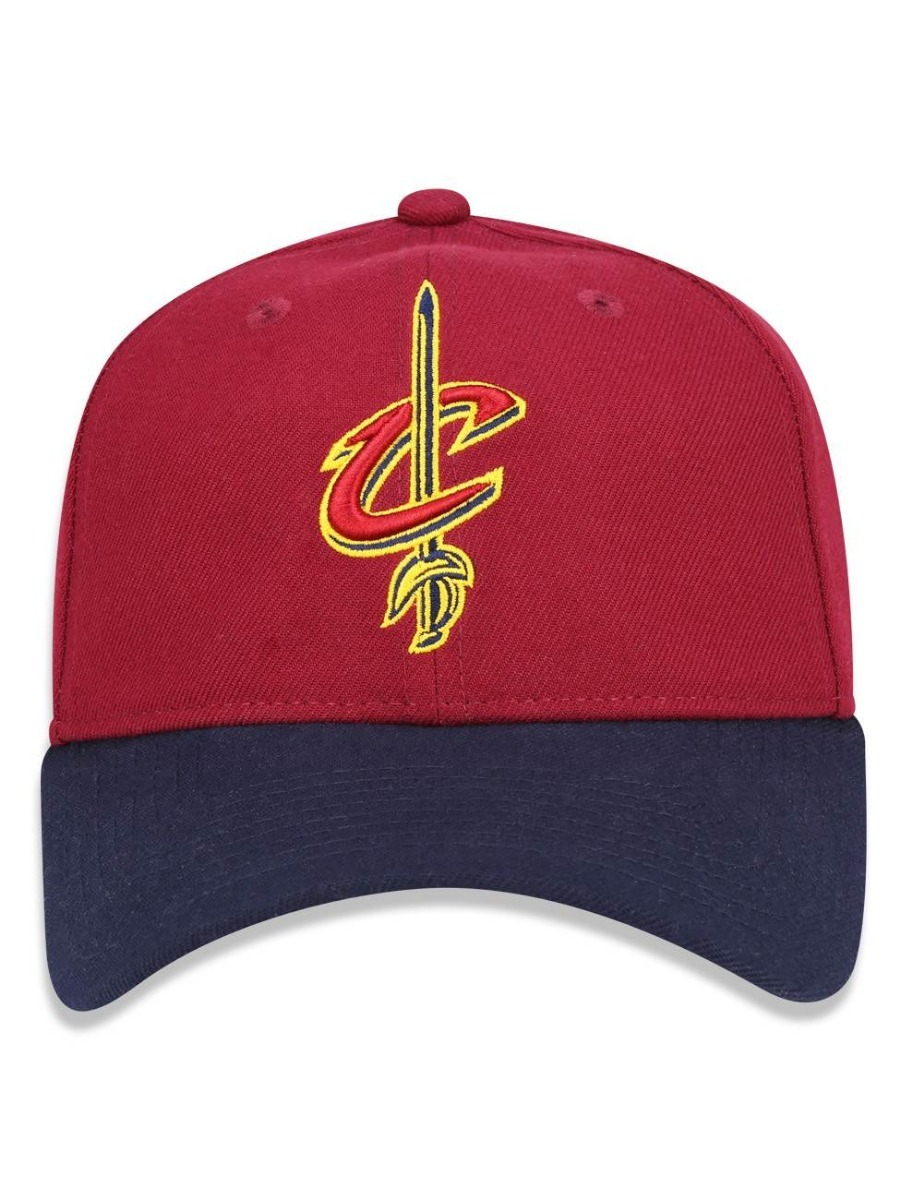 eac749bd6 Carregando zoom... boné new era 9forty nba cleveland cavaliers adjustable  curvo