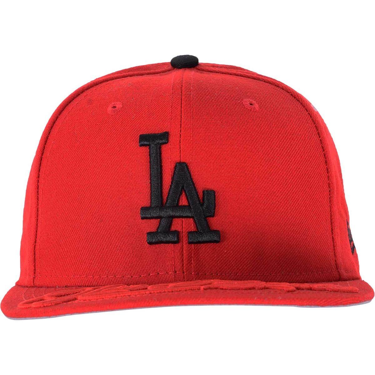 b6125ba487c15 Boné New Era La Dodgers Word Sway Vermelho - R  49