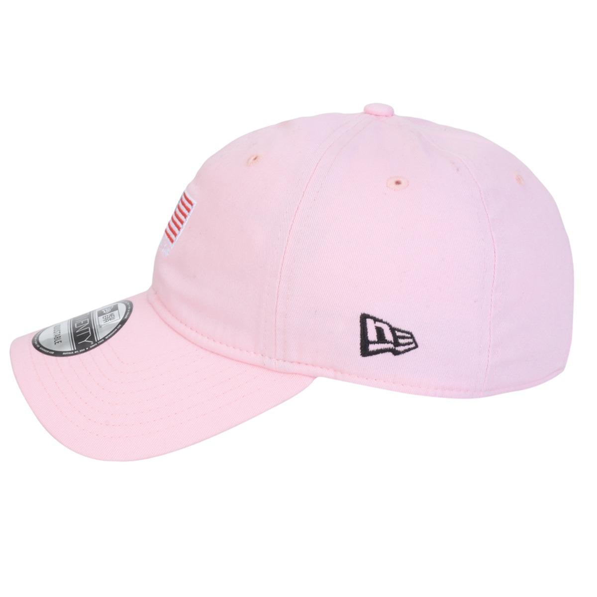 Carregando zoom... boné aba curva new era 920 mini flag rosa. Carregando  zoom. 99b19bd48109c