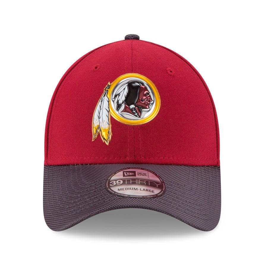 1351a91cd Boné New Era Aba Curva Washington Redskins Team Color - Nfl - R  139 ...