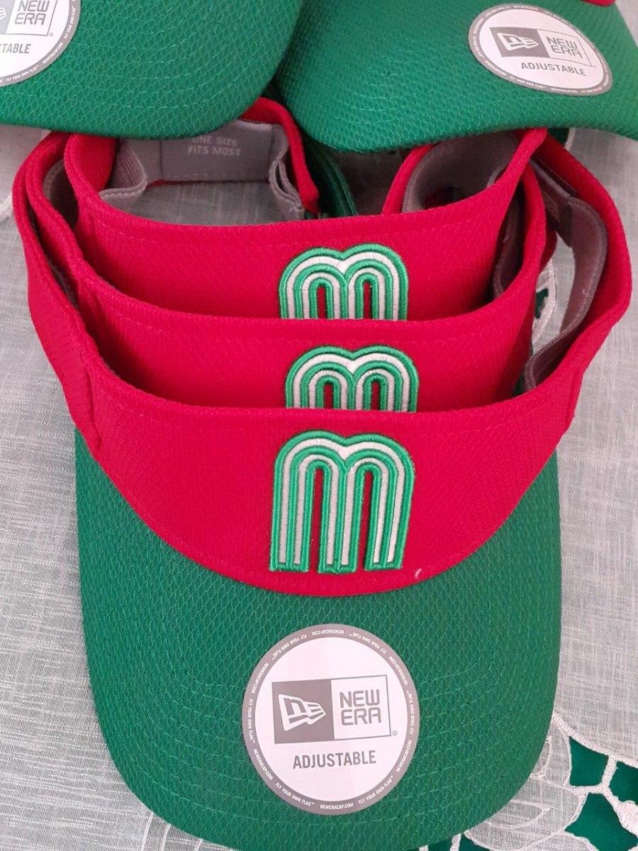 New Era Viseras Originales Mexico Retro -   500.00 en Mercado Libre 8a51ada95fd
