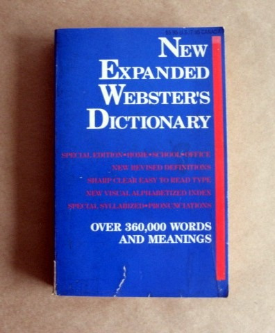 new expanded webster´s dictionary