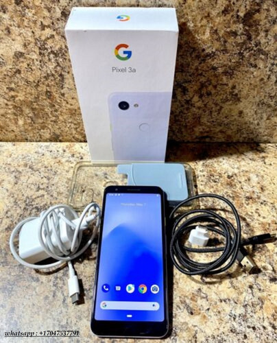 new factory sealed google pixel 3a