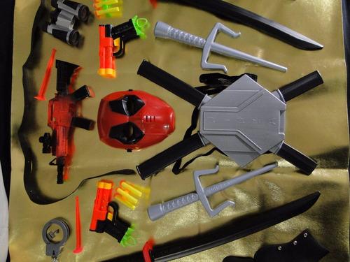 new fantasia deadpool mascara pistola nerf metralha dardos
