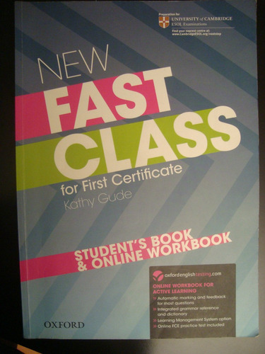 new fast class for first certificate - oxford