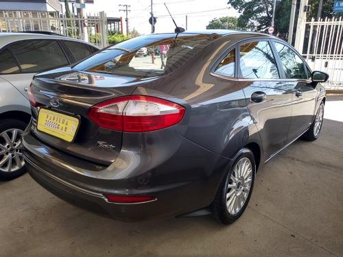 new fiesta 1.6 titanium sedan at