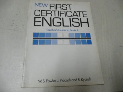 new first certificate english