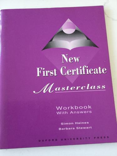 new first certificate masterclass