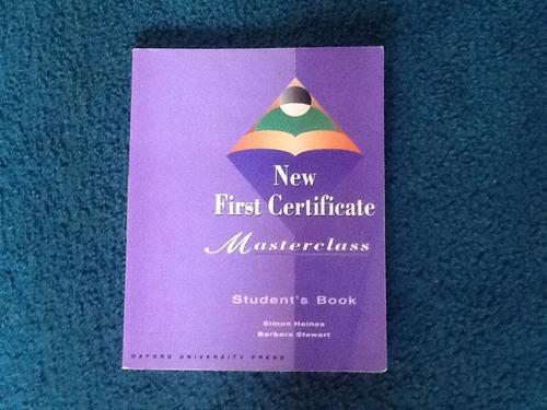 new first certifícate masterclass