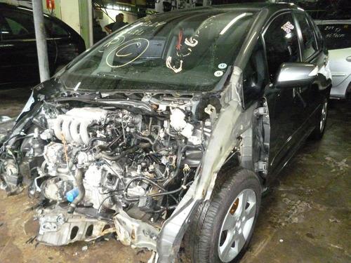 new fit lx 1.4 16v - sucata motor cambio  peças e acabamento