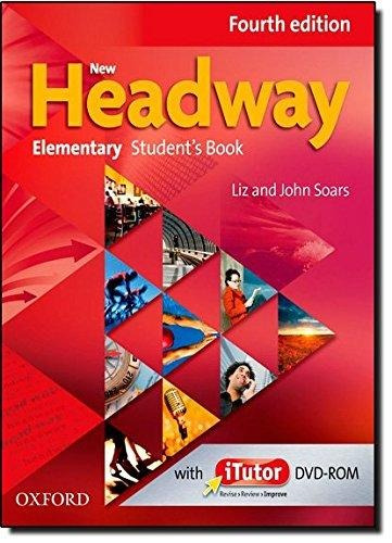 new headway elementary student`s w/dvdrom fourth ed  oxford