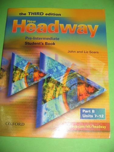 new headway pre intermediate part b 3rd edition $ 1180 nuevo
