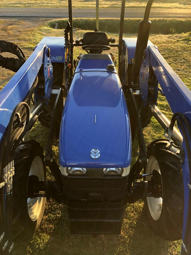 new holland tt55, internacional 784 con pala