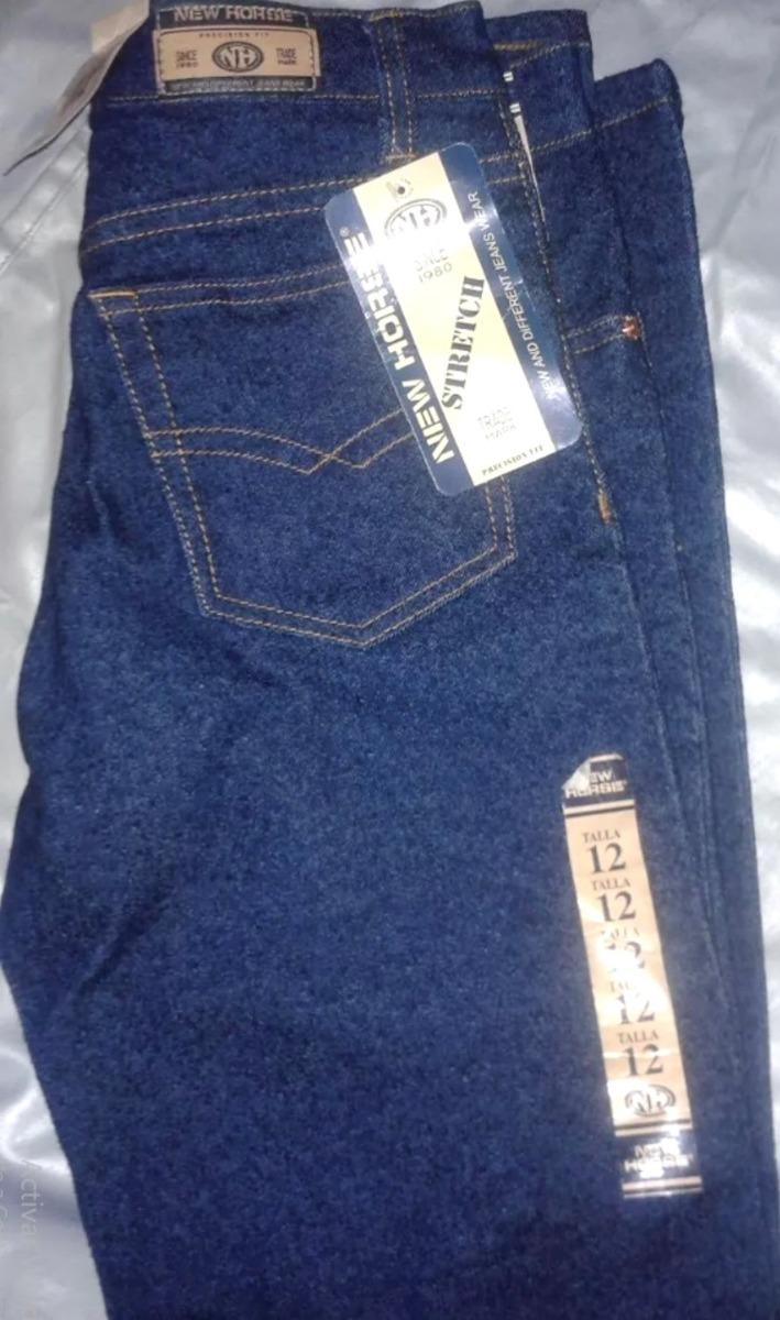 ce0245c68 New Horse Pantalón Blue Jeans Para Damas Strech Bota Recta - Bs ...