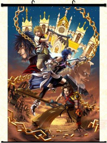 New Japanese Kingdom Hearts Wallpaper Scroll Poster