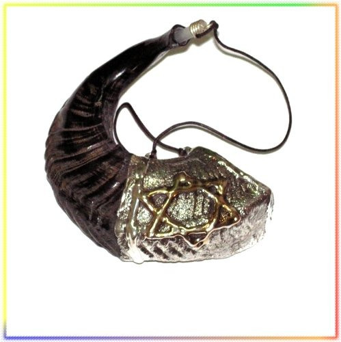 new judaica oil 13  anointing silver rams shofar from the ho