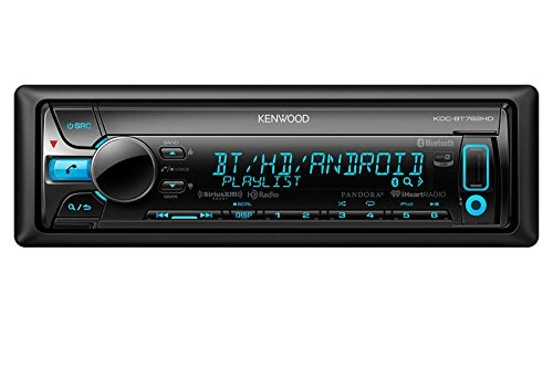 New Kenwood Kdc-bt762hd Hd Bluetooth Car Cd Player Receiver