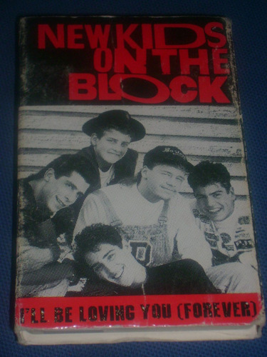 new kids on the block cassette single i'll be loving you op4