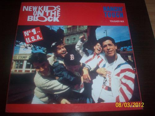 new kids on the block hangin' tough mix vinyl lp maxi single
