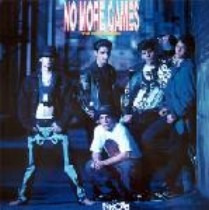 new kids on the block   lp   no more games  1990