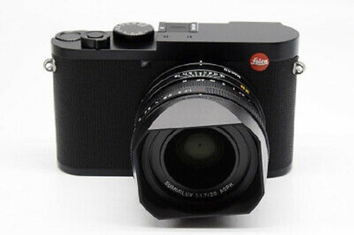 new leica q2 47.3mp digital camera black