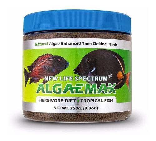 new life spectrum algaemax 250gr - alimento premium peces