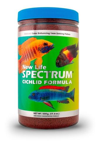 new life spectrum cichlid 500gr - alimento premium peces