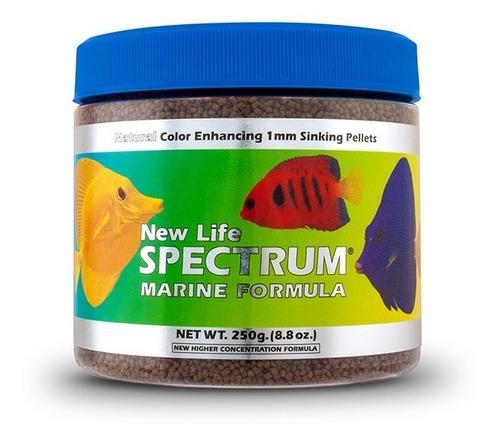 new life spectrum marine 250gr - alimento premium peces