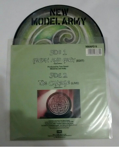 new model army single picture green and grey