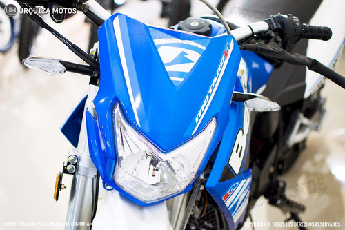 new moto beta motard 200 m4 azul 0km urquiza motos