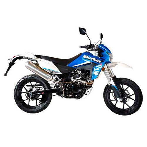 new moto beta motard 200 m4 azul 0km urquiza motos