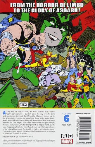new mutants curse epic tpb - marvel comics - robot negro