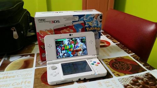 new nintendo 3ds edición pokemon más 4 juegos físicos y 2 dg