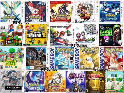 new nintendo 3ds xl + 22 jogos originais pokémon mario zelda