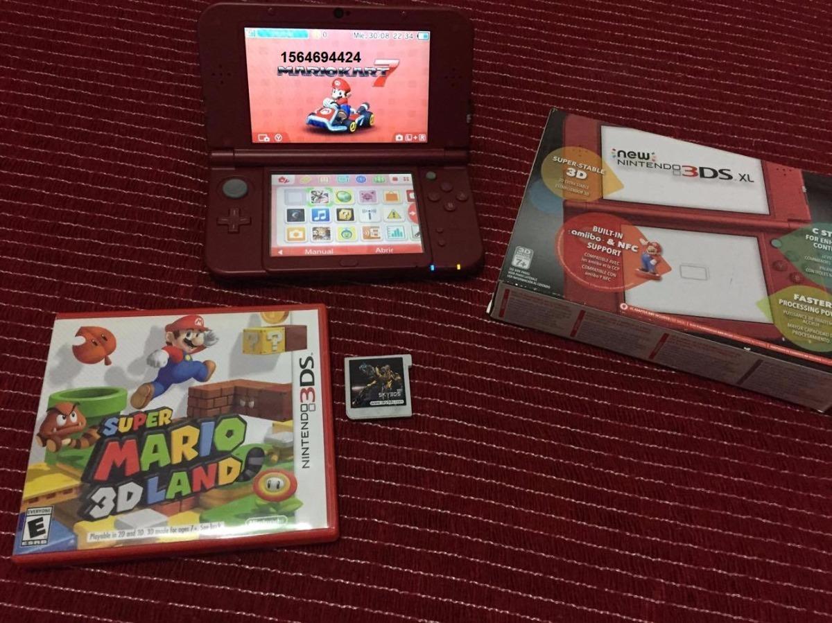 New Nintendo 3ds Xl Cargador Flash Juegos 8 900 00 En