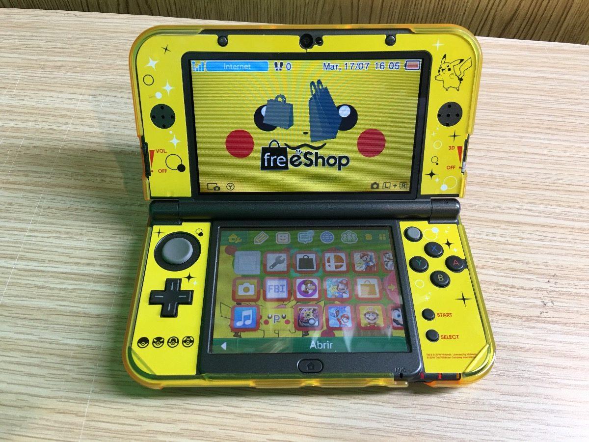 New Nintendo 3ds Xl Con Skin Pokemon Ds 64gb Y Juegos 3 999 00
