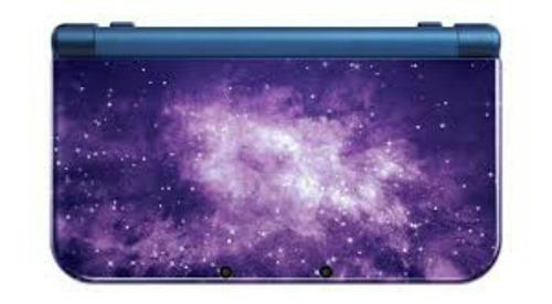 new nintendo 3ds xl galaxy style+carregador original brinde
